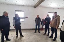 Хусовић у обилсаку радова на објекту у Бијелој Цркви
