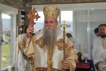 Владика Јоаникије бесједио на литургији у Кличеву