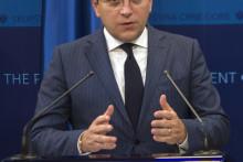 Оливер Вархељи у Скупштини Црне Горе