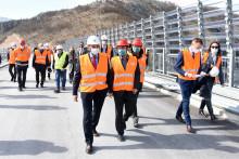 Министар капиталних инвестиција обишао радове на аутопуту