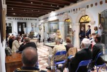 <p>Атмосфера на промоцији у Поморском музеју</p>
