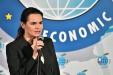 <p>Светлана Тихановскаја</p>