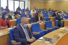 <p>Представници власти и опозиције у градском парламенту</p>