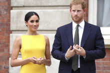 <p>Меган Маркл и принц Хари</p>