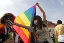 <p>Са ранијих геј парада у Загребу</p>