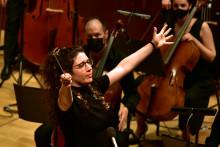 <p>Crnogorski simfonijski orkestar koncert,Nil Venditi,muzicki centar Crne Gore</p>