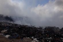 <p>Дим са депоније Мислов до шири се градом</p>