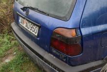 <p>Демолиран аутомобил Перовића</p>