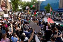 <p>Про-палестински демонстранти</p>