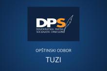 <p>Tузи, Општински Одбор ДПС</p>