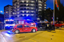 <p>Саобраћајна несрећа у Будви</p>