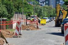 <p>Реконструкција улице Миодрага Булатовића, на Старом Аеродрому</p>