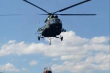 <p>Гашење пожара из хеликоптера</p>