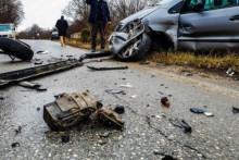 <p>Саобраћајна несрећа код Урошевца</p>