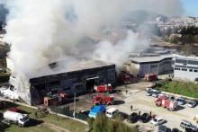 <p>Пожар, изгорјели објекти</p>