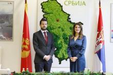 <p>Јаков Милатовић и Татјана Матић</p>