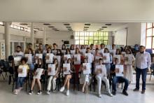 <p>Понос школе 32 ученика</p>