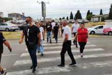 <p>Протест грађана Старог аеродрома и Коника</p>