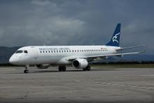 <p>Авион Монтенегроерлајнза</p>