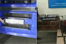 <p>Камиони са загребачким ознакама</p>