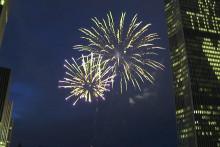 <p>Прослава у Њујорку</p>