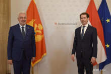 <p>Здравко Кривокапић и Себастијан Курц</p>