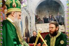 <p>Са богослужења у манастиру Стањевићи</p>