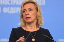 <p>Марија Захарова</p>