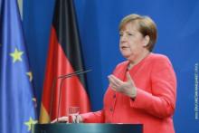 <p>Ангела Меркел</p>