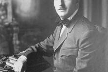 <p>Албански краљ Ахмет Зогу</p>