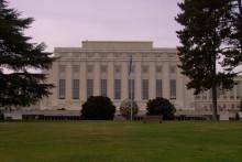 <p>Палата народа у Женеви (данас европско сједиште Уједињених нација)</p>