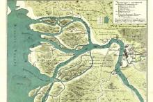 <p>Планови за Нијеншанц на Неви из 1698,.г</p>