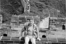 <p>На Кинеском зиду 1996.г</p>