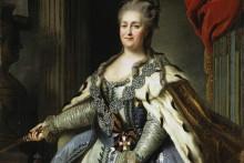 <p>Руска царица Катарина II или Катарина Велика</p>