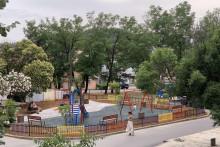 <p>Дјечије игралиште у Улици Луке Бољевића</p>