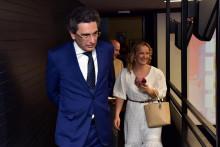<p>Шпански амбасадор Раул Бартоломе Молина<strong> </strong>у Црногорској кинотеци</p>