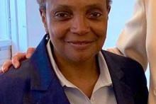 <p>Градоначеница Чикага Лори И.Лајфут</p>
