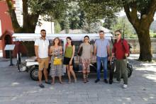 <p>Екипа украјинске телевизије</p>