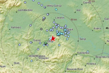 <p>Петриња, земљотрес</p>