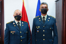 <p>Милутин Ђуровић и Хајрудин Ђерекац</p>