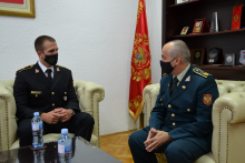 <p>Милош Кривокапић и Милутин Ђуровић</p>