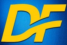 <p>Демократски фронт, лого</p>