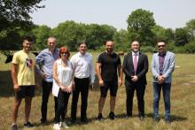 <p>Министар обишао пољопривреднике у Голубовцима</p>