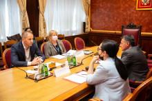 <p>Дамир Шеховић састао се са представницима Синдиката просвjете</p>