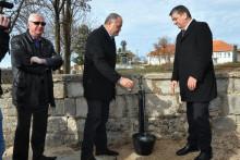 <p>Свечано отварање водовода у МЗ Враћеновићи 2018. године</p>