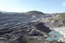 <p>Копови Рудника угља у Пљевљима</p>