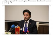 <p>Фото: текст објављен на порталу politicki.ba</p>