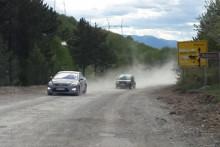 <p>Путни првац Пљевља према граници са Србијом</p>