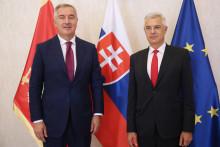 <p>Са састанка Ђукановића и Корчика</p>