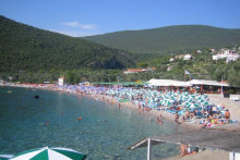 <p>плажа Жањиц</p>